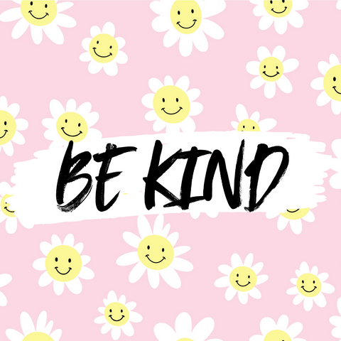 International Day of Happiness Be Kind slogan