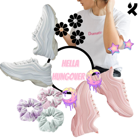 Koi Footwear x Coconut Lane - Hella Hungover style guide