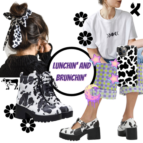 Koi Footwear x Coconut Lane style guide - Lunchin and brunching