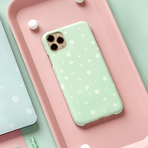 Mint Spots Phone Case