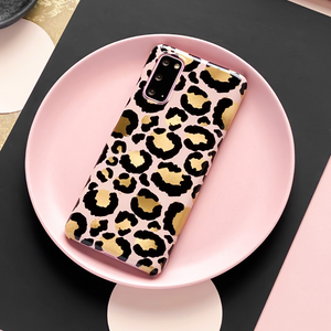Samsung Phone Case - Gold Leopard