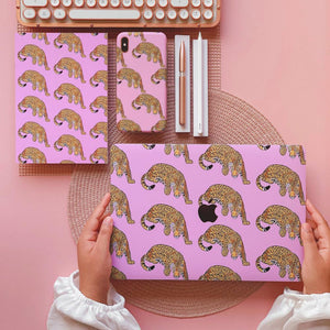 Coconut Lane's Jaguar Macbook Skin, Phone Case and Notebook