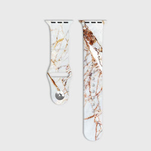 Rose Gold Marble Apple Watch Strap