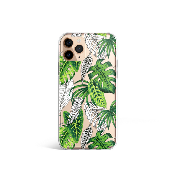 Clear Phone Case - Jungle Fever