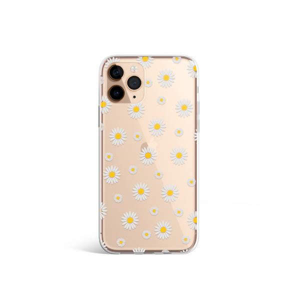 Clear Phone Case - Daisy