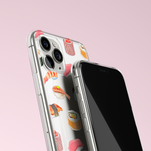 Clear Phone Case - Sushi