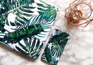 Coconut Lane's Palm Macbook Skin and Phone Case