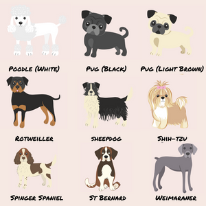 Personalised Dog Phone Case - Choose Your Breed