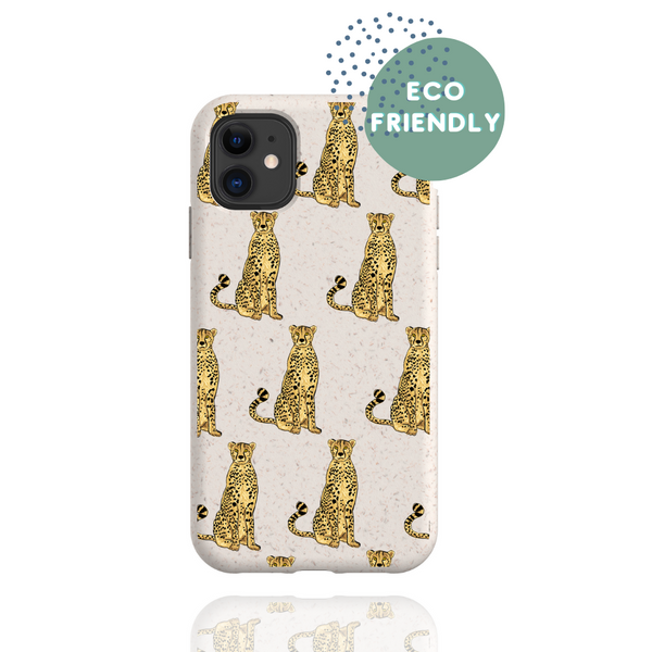 Biodegradable Cheetah Phone Case