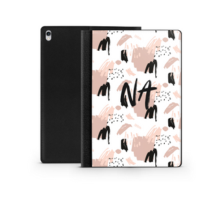 Personalised Ipad Case - Nude Abstract
