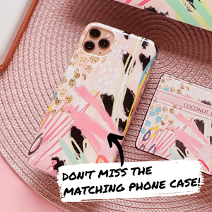 Abstract Vibes Apple Watch Strap matching product - Phone Case