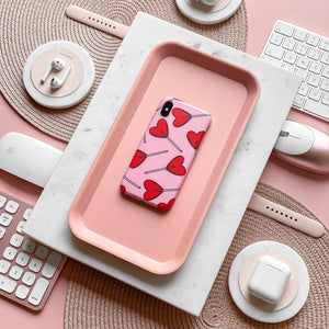 Candy Hearts Phone Case