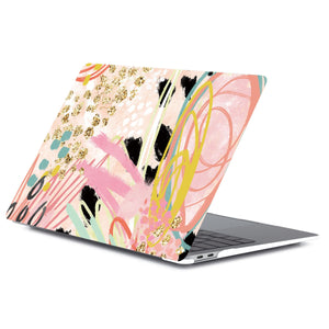 Abstract Vibes Macbook Case