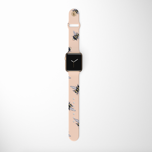 Honey Bee Apple Watch Strap