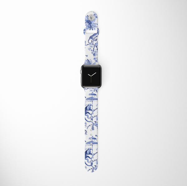 Toile De Jouy Apple Watch Strap
