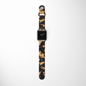 Chic Tortoiseshell Apple Watch Strap