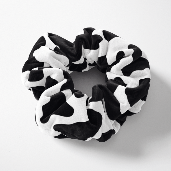 Cow Scrunchie