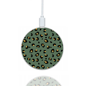 Khaki Leopard Wireless Charger