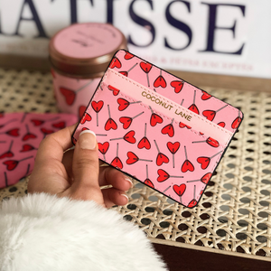 Candy Hearts Card Holder