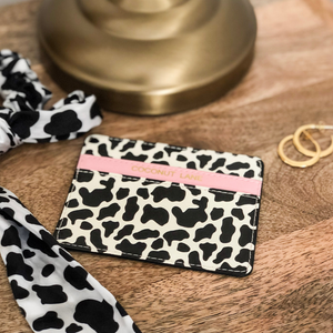 Cow Card Holder