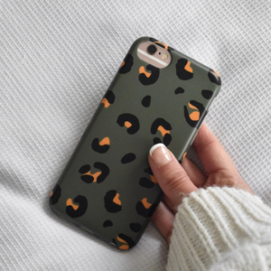 Khaki Leopard Phone Case