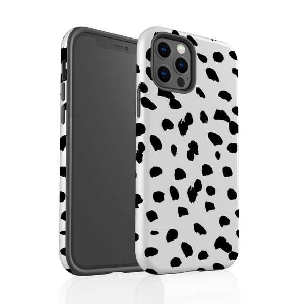 Tough Phone Case - Monochrome Spots