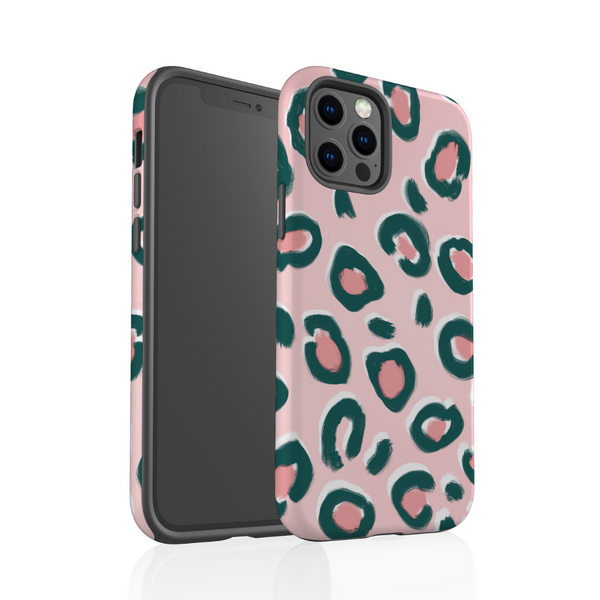 Tough Phone Case - Pink Leopard