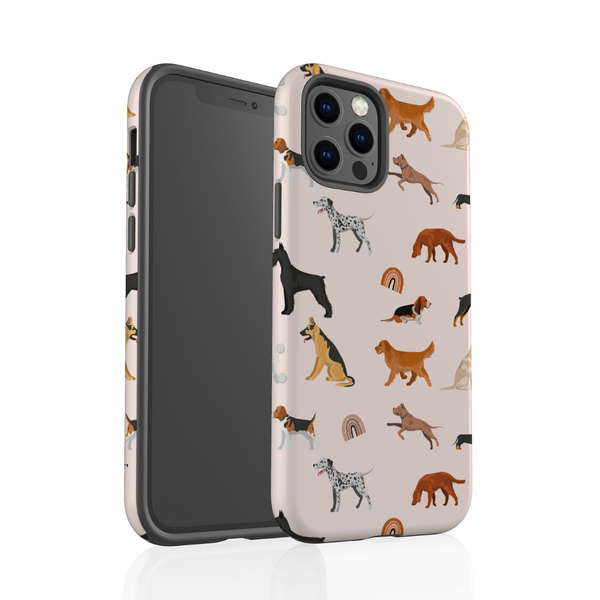 Tough Phone Case - Dogs and Rainbows