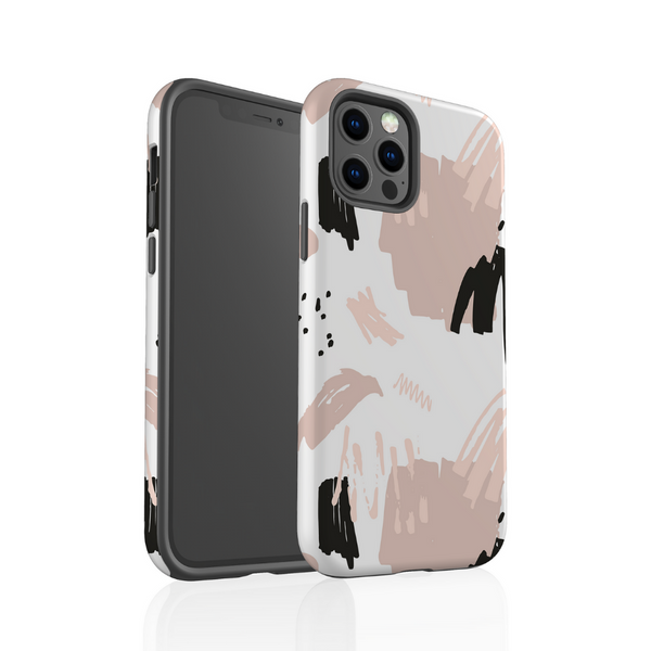 Tough Phone Case - Nude Abstract