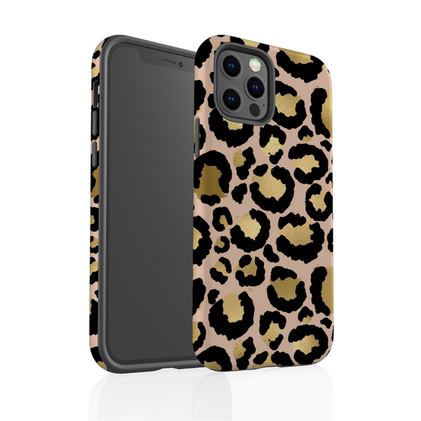 Tough Phone Case - Gold Leopard