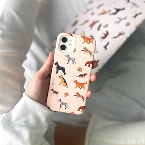 Dogs & Rainbows Phone Case