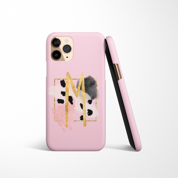 Personalised Phone Case - Pink Brush
