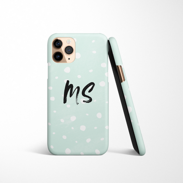 Personalised Phone Case - Mint Spots
