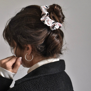 Nude Abstract Scrunchie
