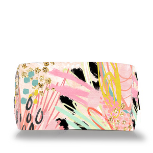 Abstract Make Up Bag