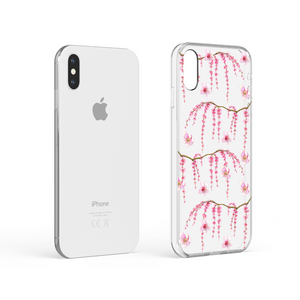 Clear Phone Case - Cherry Blossom