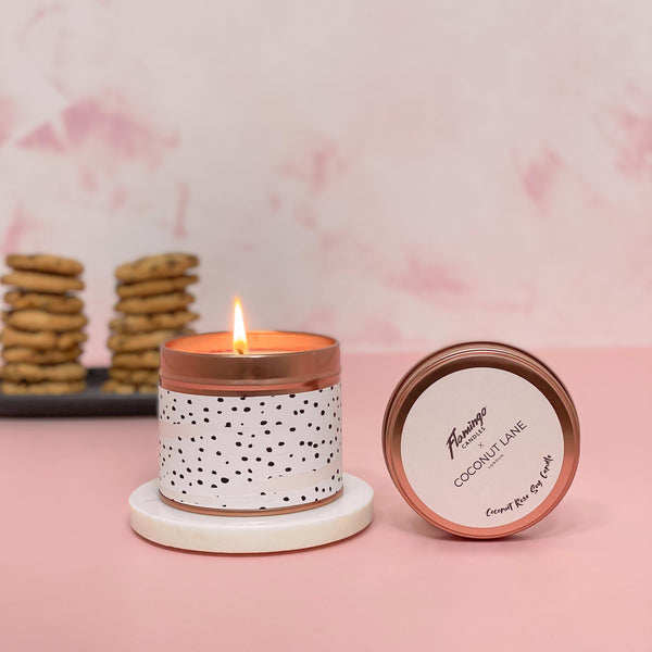 Dalmatian Candle - Coconut Rose
