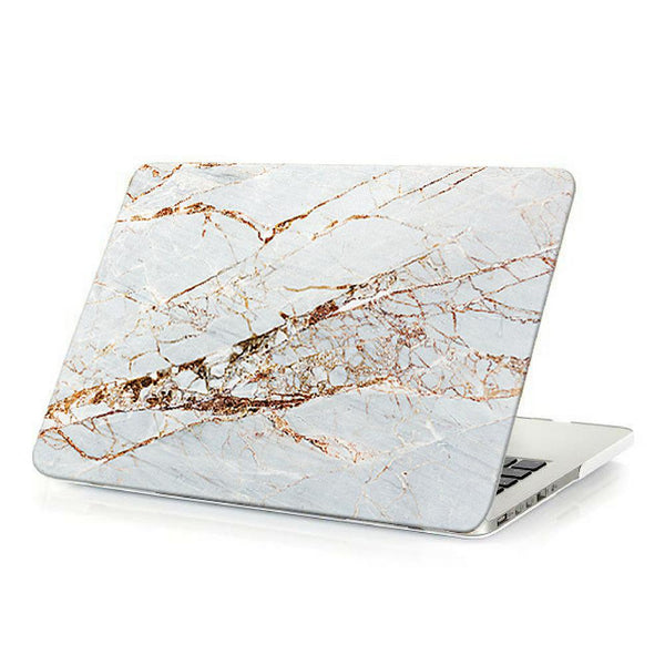 Coconut Lane's Rose Gold Marble Macbook Case