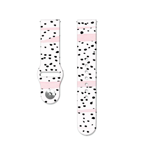 Fitbit Versa Watch Strap - Dalmatian on white background