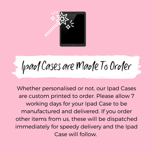 Coconut Lane iPad Case Information