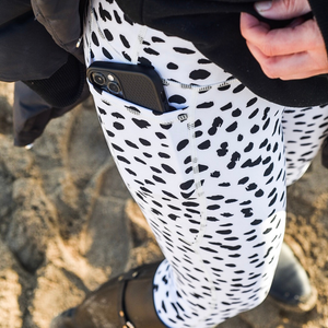 Cocogym - Monochrome Spots Leggings