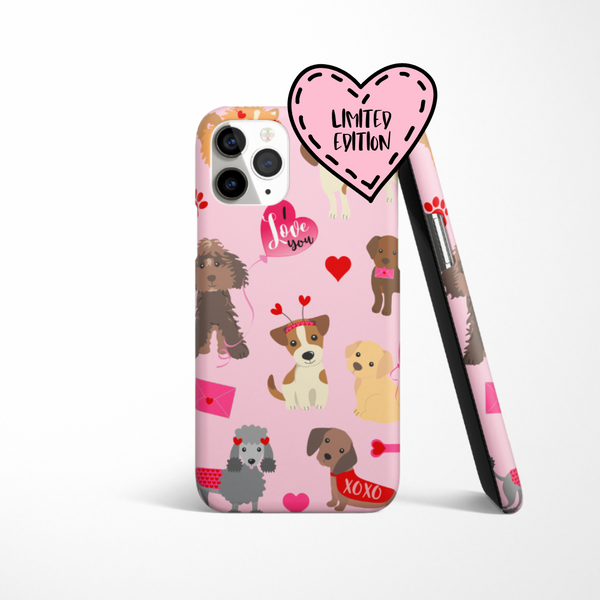Limited Edition - Valentine's Phone Case - Puppy Love