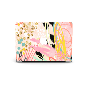 Coconut Lane's Abstract Vibes Macbook Skin