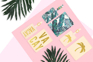 Palm Tree Passport Cover