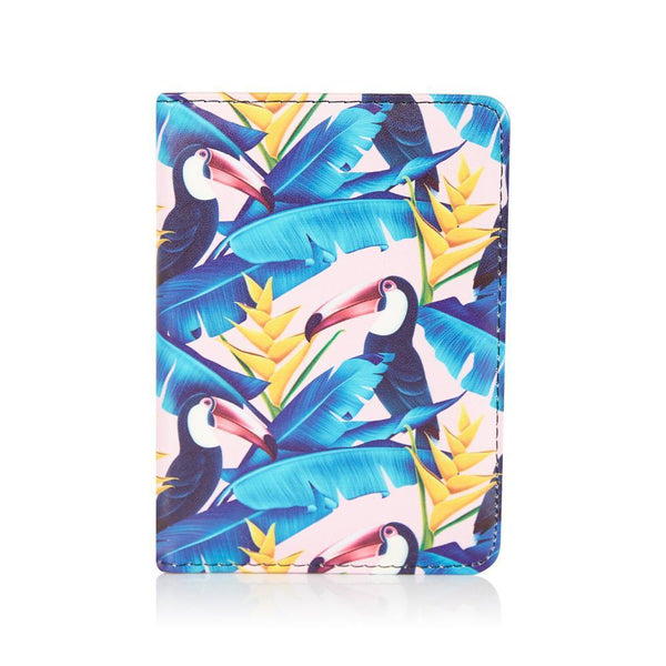 Tropical Toucan Passport Cover