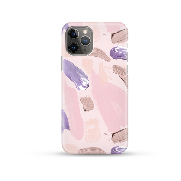 Lilac Brush Phone Case