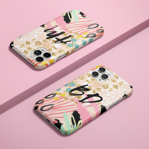 Personalised Phone Case - Abstract Vibes