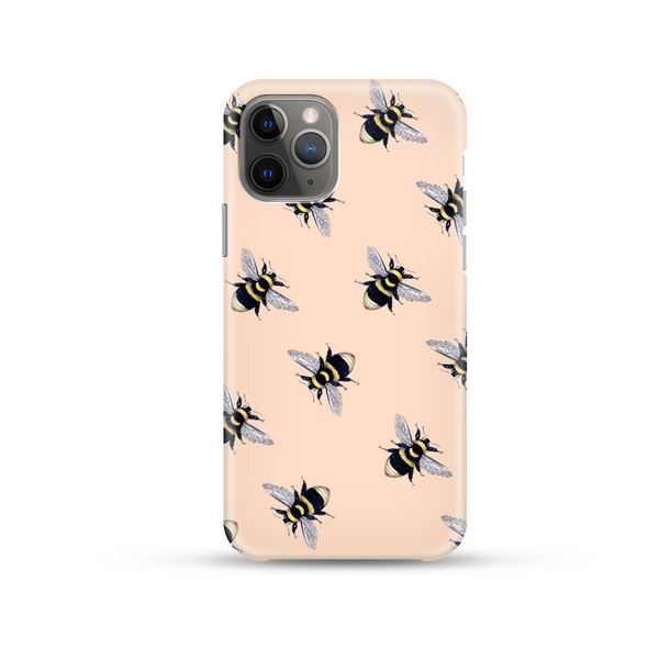 Coconut Lane Honey Bee Phone Case on white background