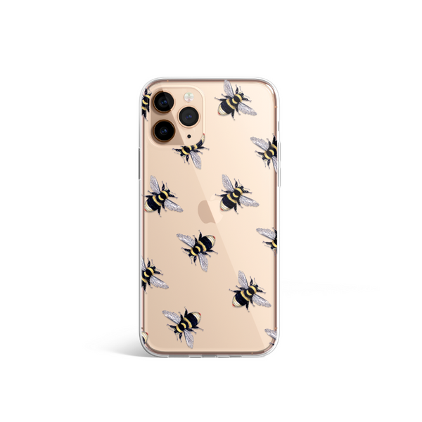 Clear Phone Case - Bee