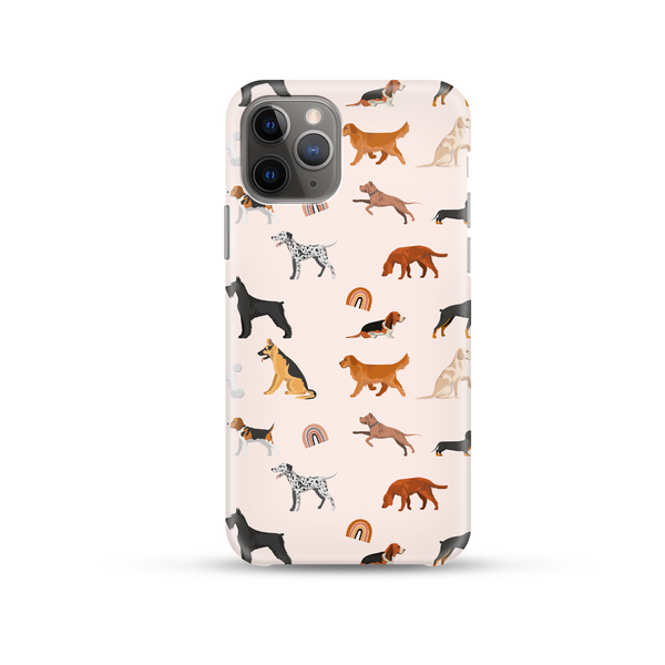Dogs and Rainbows Phone Case